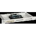ITK 1U кросс укомплектованный: SC (Simplex) 4шт (OM3)