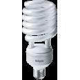 Лампа энергосберегающая (КЛЛ интегрированная) «спираль» d80мм E27 55Вт 230В нейтральная холодно-белая 4000К/840 8000ч Navigator