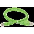 ITK Коммутационный шнур (патч-корд), кат.5Е UTP, 0,5м, зеленый