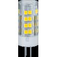Лампа светодиодная (LED) d16мм G4 360° 5Вт 220-240В прозрачная нейтральная холодно-белая 4000К Navigator