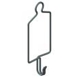 Держатель шинопровода для подвеса на трос или цепь, 2P+2P/4P+4P/6P+6P