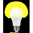 Jazzway Лампа светодиодная PLED-A60 Buglight 10W YelloW E27