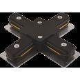 PTR CX-BL Коннектор чёрный X -обр. Jazzway