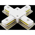 PTR CX-WH Коннектор белый X -обр. Jazzway