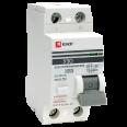 Устройство защитного отключения УЗО ВД-100 2P 63А/30мА (электронное) EKF PROxima