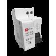 Дифференциальный автомат 1P+N 16А 30мА тип АС х-ка C эл. 4,5кА АД-12 EKF Basic