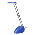 Светильник настольный светодиод. (LED) 15x3Вт 220-240В синий на подставке Jazzway
