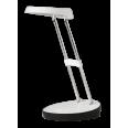 Светильник настольный светодиод. (LED) 15x4Вт 220-230В белый USB на подставке Jazzway
